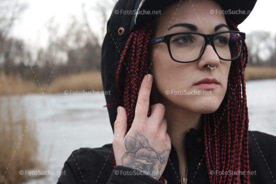 Fotosuche Frau Gedanken