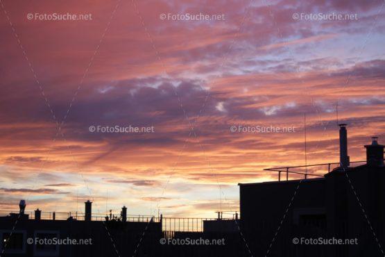 Fotosuche Stadt Sonnenuntergang