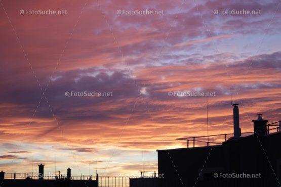 Fotosuche Stadt Sonnenuntergang-1