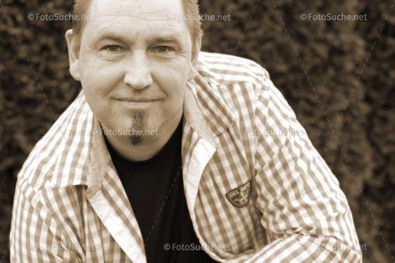 Fotosuche Mann Portrait