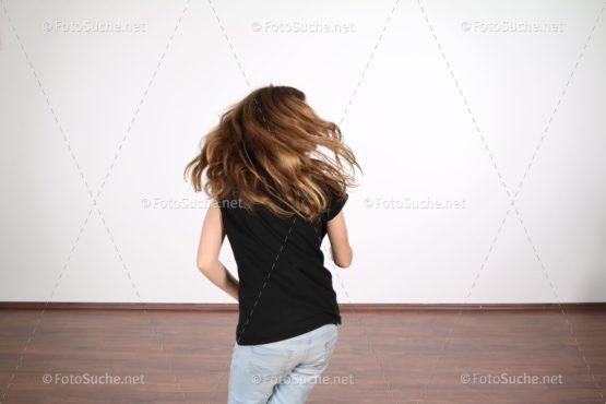 Junges Mädchen Freude Tanzen 3 Foto kaufen Fotoshop