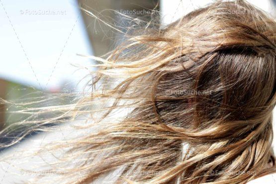Haare Wind Blond 2 Foto kaufen Fotoshop
