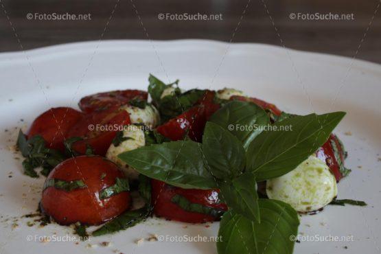 Tomaten Mozzarella Balsamico Foto kaufen Fotoshop