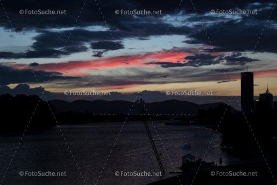 Foto Fonnenuntergang Fluss | Foto kaufen Foto kaufen | Fotoshop