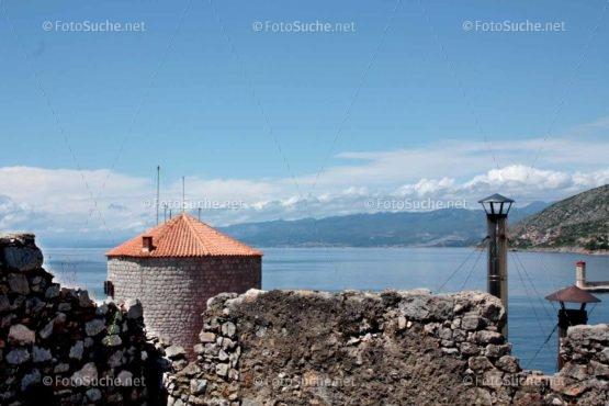 Foto Alte Stadtmauer Meer Nostalgie | Foto kaufen Foto kaufen | Fotosuchen